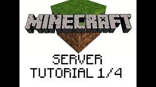 Java Installation and Setup - Minecraft SERVER tutorial 1/4