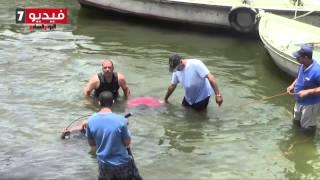 شاب ينقذ فتاة من الغرق بالنيل ويغرق مكانها
