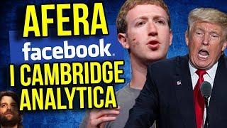 AFERA Facebook i Cambridge Analytica - Wyciek Danych 50 MILIONÓW LUDZI i Manipulacje - Komentator