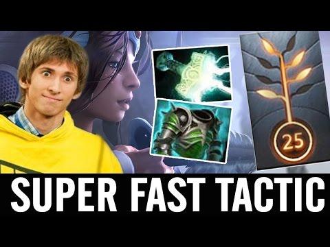 Dendi Mirana SUPER FAST AS TACTIC Dota 2 7.01 Patch