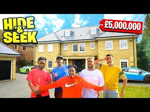 HIDE AND SEEK IN £5 000 000 MANSION