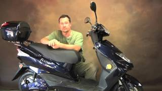 Modding a Flux Moped Electric Scooter Overview