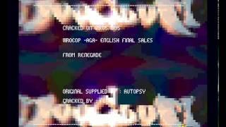 Amiga Cracktro : Virocop / Hoodlum-Chryseis (1995) AGA