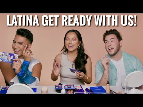 Get ready with us ft Becky G and Louie Castro FUNNY AF
