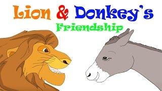 The Lion & Donkey
