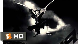 Sin City (6/12) Movie CLIP - Miho vs. Jackie Boy (2005) HD