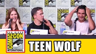 TEEN WOLF Season 6 Comic Con Panel - Tyler Posey, Holland Roden
