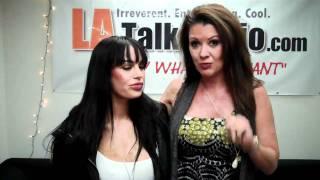 Taboo Topics: Raquel Devine w/ XXX Adult Film Star Angelina Valentine