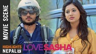 कर्म र केकीको पहिलो भेट - Nepali Movie LOVE SASHA Scene 2074 | Ft. Karma, Keki Adhikari