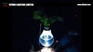DIY home decorUse the incandescent bulbs to make a vases