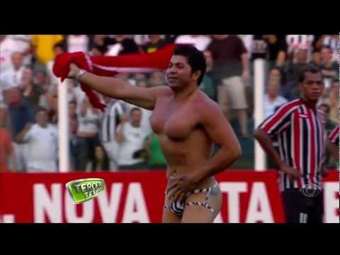Torcedor NU INVADE Campo da Vila Belmiro Santos 1 x 0 São Paulo