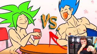 VEGETA VS KEFLA ❤ | PARODIA DRAGON BALL SUPER | VIDEOREACCION BYPRODIGYX