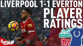 Gomez Was Immense! | Liverpool v Everton 1-1 | Jonathan's Player Ratings