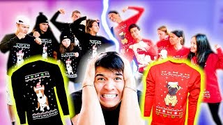 CHRISTMAS SWEATER BATTLE! (Black Friday Fight)