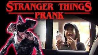Drive Thru Stranger Things Prank!
