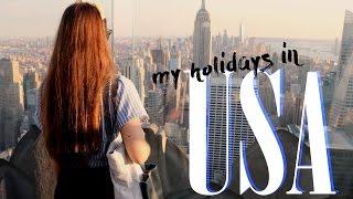WAKACJE W USA | moja podróż marzeń