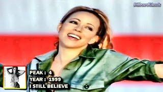 Mariah Carey - Complete Billboard Charts History (1990 - 2015) ~ 1080p HD ~