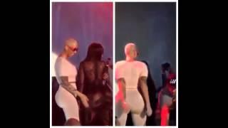 Amber Rose Twerks On Chris Brown At Supper Club [Amber Rose Dance]
