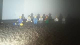 Toms crush Lego man