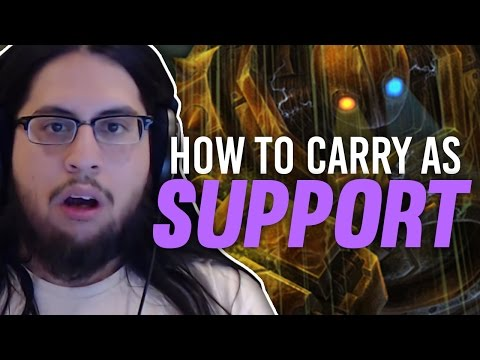 Imaqtpie HOW TO CARRY AS SUPPORT I AM THE GOD HAND