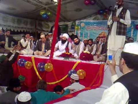 pir sarkar gee and pir naqeeb ur rehman eid ghah shrif in mehfil i naat at gulshan abad shrif