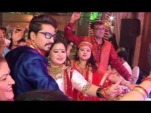 Xxx Mp4 Bharti Singh Wedding Video Mata Ki Chowki Full Video HD 3gp Sex