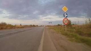 Да минеш в  града на ограничение 50 със 150-200 км/ч - това за първи път ми се случва ...