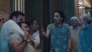 مسلسل الكبريت الاحمر - رد فعل سندس لما سمعت خبر خطف  قمر بنتها