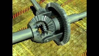 CATIA differential gear train