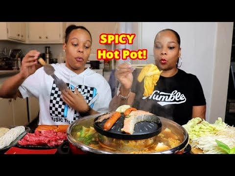 Xxx Mp4 SPICY HOT POT MUKBANG Salmon Wagyu Asian Sausage 3gp Sex