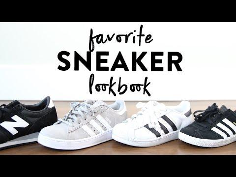 Favorite Sneakers Summer Lookbook | Adidas Gazelle Campus & Superstar | New Balance 620 | Miss