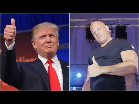 Xxx Mp4 Vin Diesel Talks About Donald Trump At XXx Press Conference 3gp Sex