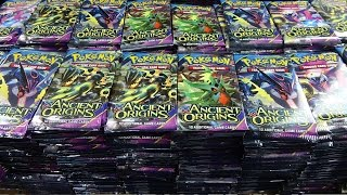 Opening 1,000 Ancient Origins Pokemon packs