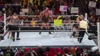 John Cena vs. Big Show: Raw, December 8, 2014
