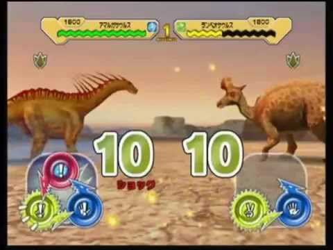 Dinosaur King Arcade Game Combat With Water Dinosaurs