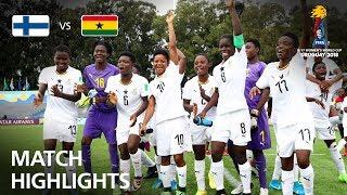 Finland v Ghana  - FIFA U-17 Women's World Cup 2018™ - Group A