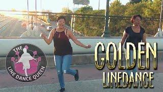 Golden DEMO-The Line Dance Queen (24K Magic) @BrunoMars