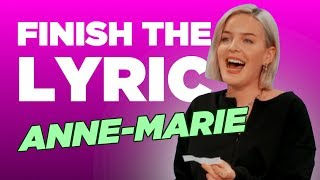 Anne-Maire Covers Katy Perry, Whitney Houston & More | Finish The Lyric | Capital
