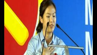 GE2015: He Ting Ru speaks at the WP rally at Boon Keng Road, Sep 3
