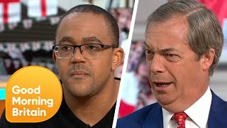 Is The English Flag Racist?   Good Morning Britain