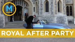 What it was like to attend the royal wedding reception | Your Morning