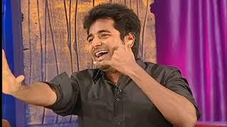 Siva Karthikeyan imitating T Rajendar - Siva Karthikeyan, Dhanush, DD