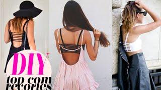 DIY STRAPPY BRA Top Com Tiras Brandy Melville Inspired