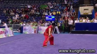 بطولة العالم 2015 ووشو كونغ فو أساليب - رجال - السيف العريض الكبير (سلاح الدا داو)