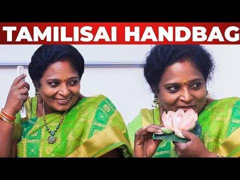 Xxx Mp4 Powder Illama Naan Illa FUN FILLED Tamilisai HANDBAG Secrets What S Inside The HANDBAG 3gp Sex
