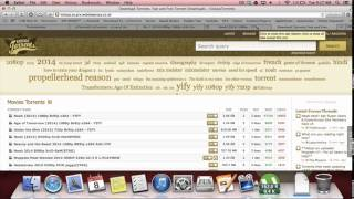 How to Torrent (get free apps, movies, books, music) for Mac and Windows!