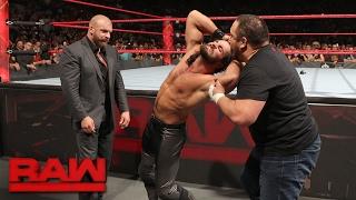 Samoa Joe ambushes Seth Rollins: Raw, Jan. 30, 2017