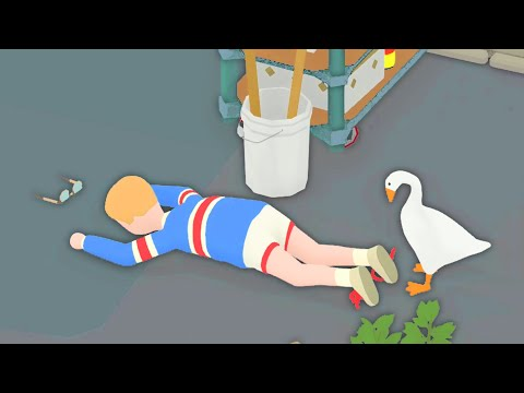 When A Nice Little Goose Becomes Very Evil in Untitled Goose Game