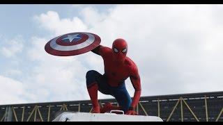 Capitán América: Civil War - Nuevo Spider-Man Latino HD