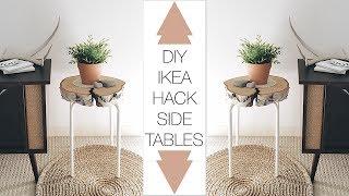 DIY IKEA Hack Side Table